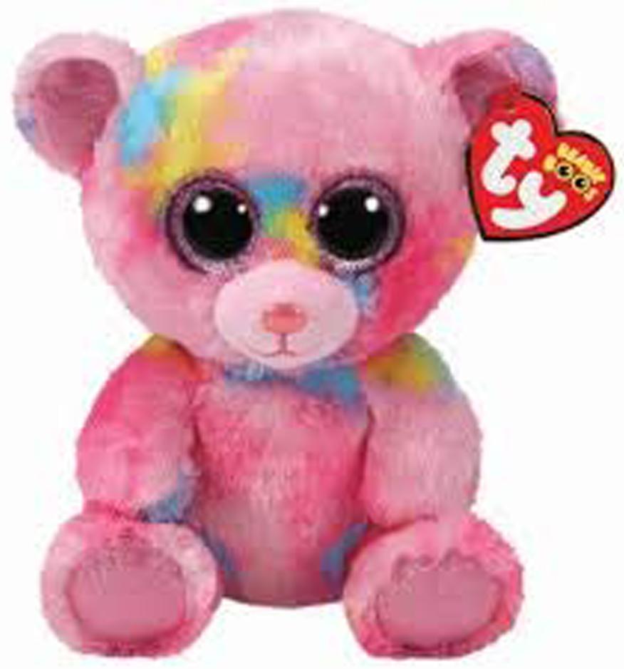 Animal Alley Plush Pink Beanie Boo Like Soft Fox Ele Toys Llc